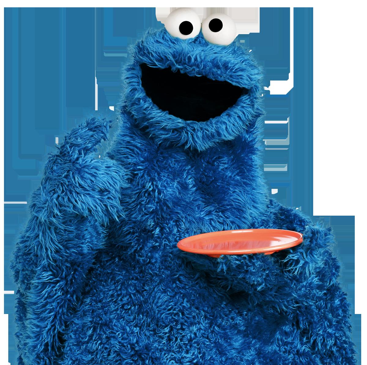 Cookie Monster Vector