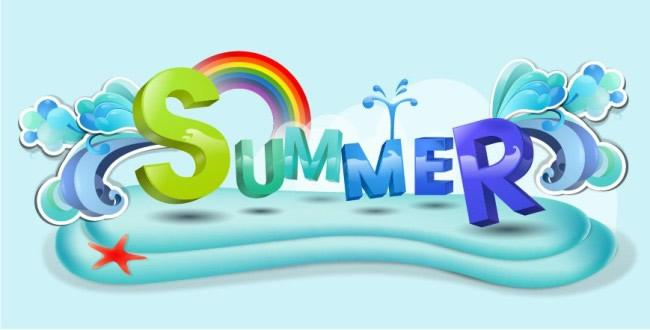 650x330 Cool Summer Poster Background Vector [Ai]
