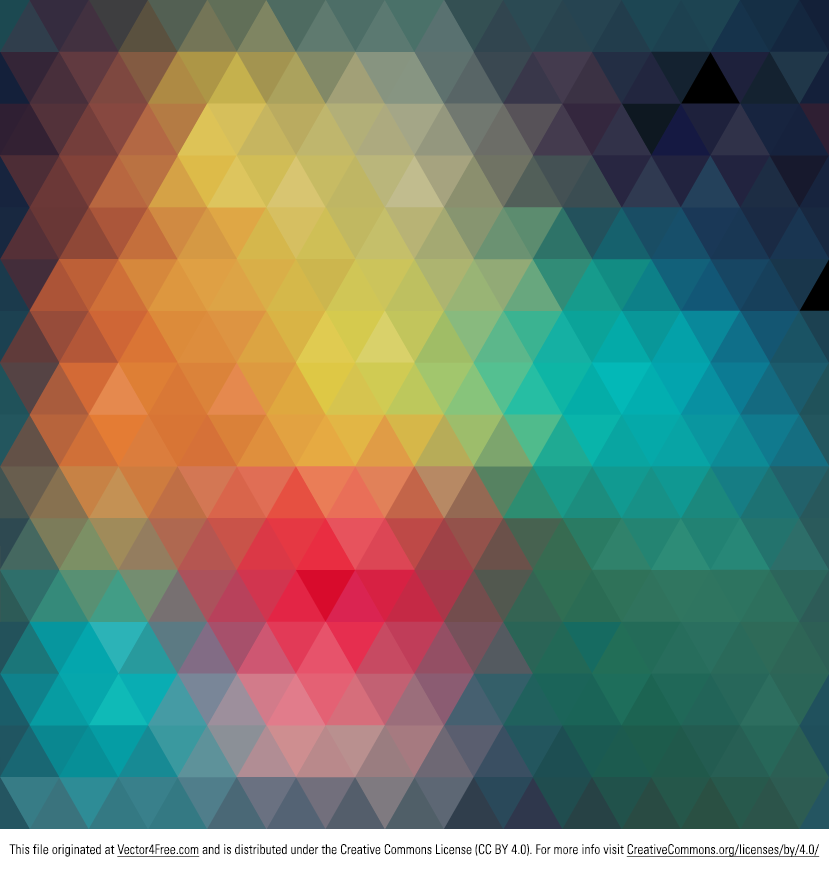 829x869 Free Geometric Colorful Abstract Background Vector