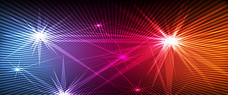 800x333 Stars Dazzle Dance Vector Background, Cool Star, Brilliant, Poster
