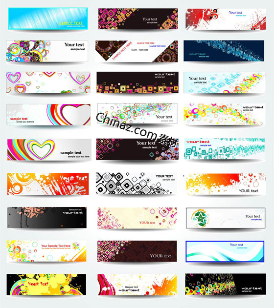 560x631 Cool Banner Designs Cool Trend Banner Design Vector Graphics