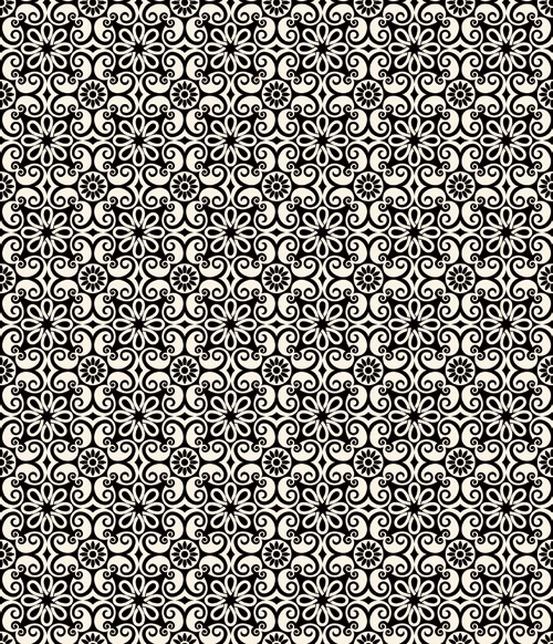 500x582 Cool Islamic Seamless Vector Background Pattern