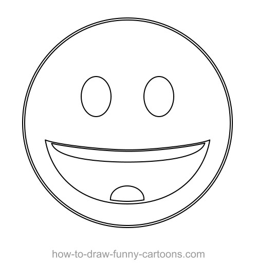 500x514 Drawing A Custom Vector Smiley