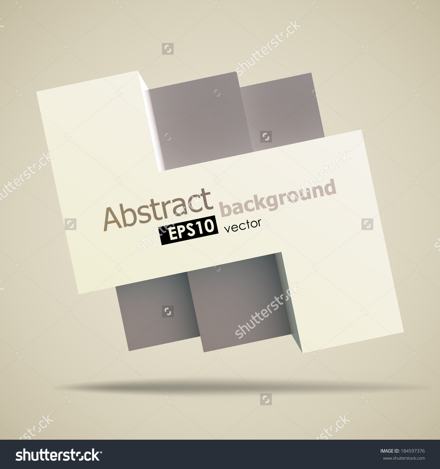 1500x1600 Stock Vector Cool Geometric Shapes Background With A Placeholder