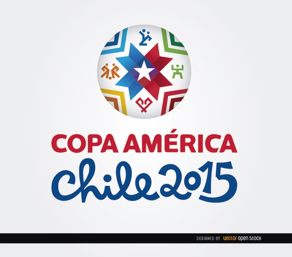 600x527 Copa America 2015 Ball Background Free Vector 123freevectors