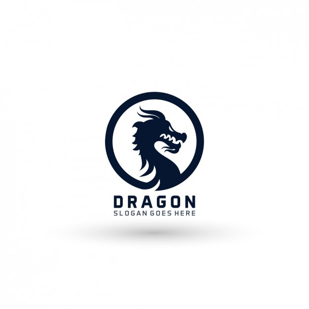 626x626 Dragon Logo Template Vector Free Download