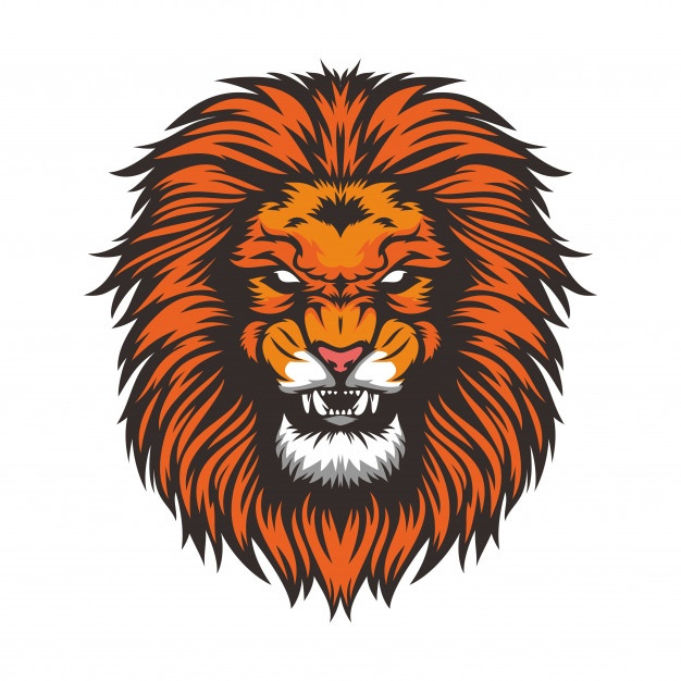 626x626 Lion Vector Free For Commercial Use