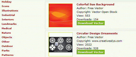 577x244 8 Sites To Download Royalty Free Vector Images In Public Domain
