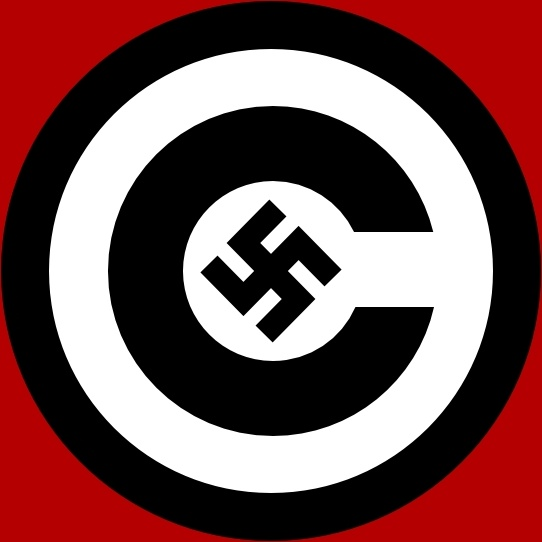 542x542 Copyright With Nazi Symbol Clip Art Free Vector In Open Office