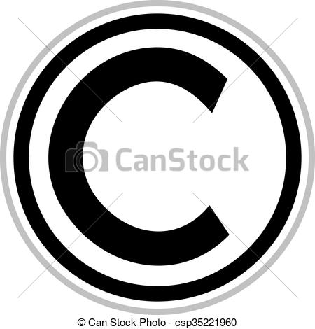 450x470 Collection Of Copyright Symbol Clipart High Quality, Free