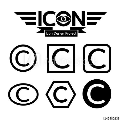 500x500 Copyright Icon