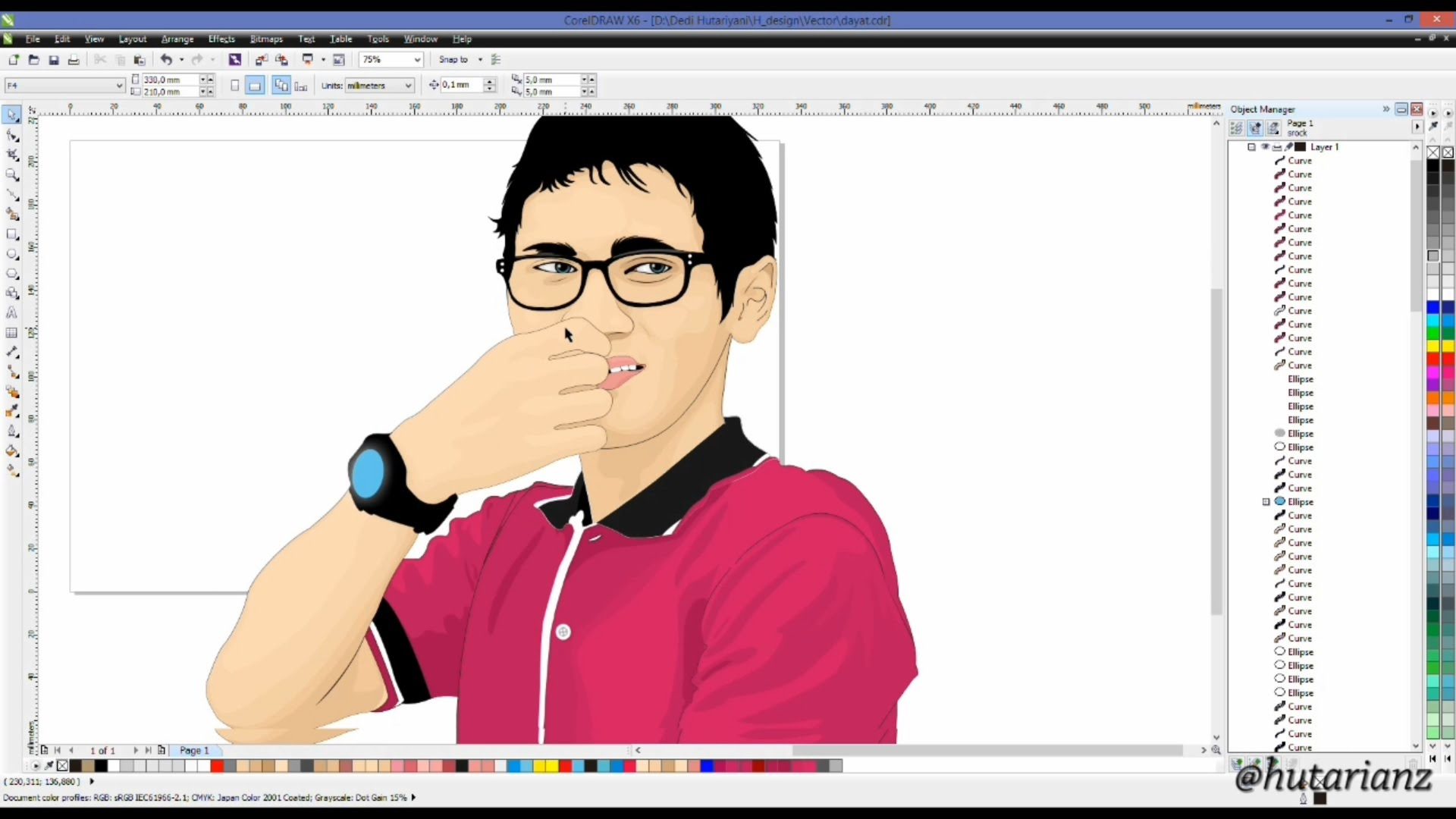 1920x1080 How To Make Vector Art Graphic