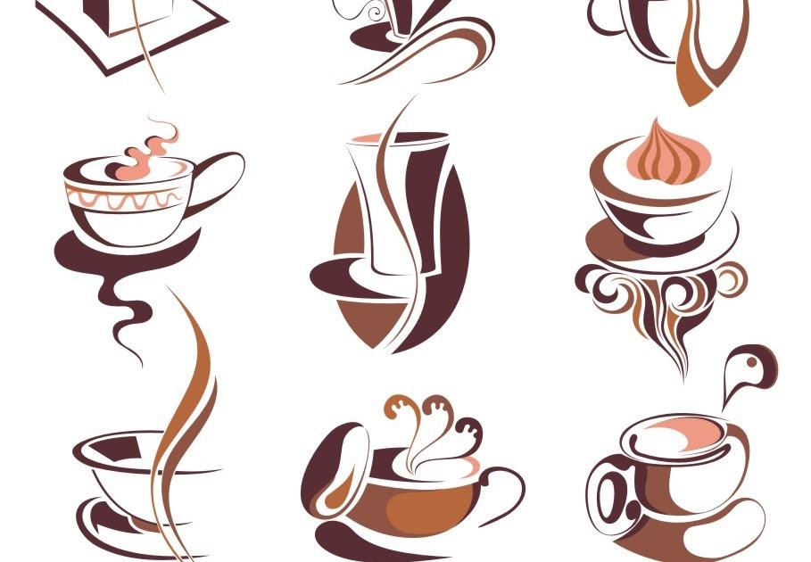 909x630 Corel Draw Free Vector Images Download Coffee Vectors