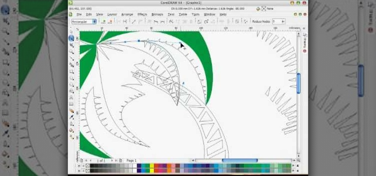 1280x600 How To Draw A Vector Art Palm Tree In Coreldraw X4 Software Tips