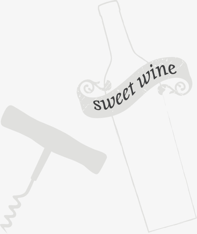 650x771 Vector Red Wine With Corkscrew, Vector, Red Wine, Photos Png And