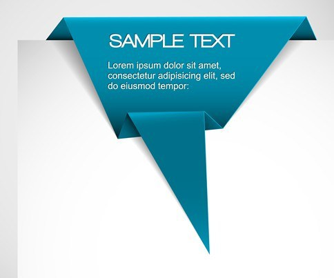 484x403 Free Elegant Vector Corner Ribbons And Labels 03