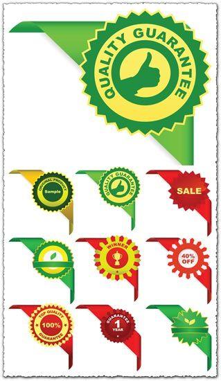 319x550 Sales Corner Ribbons Vector Vectors Corner