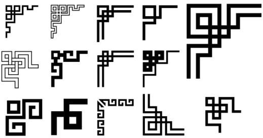 519x272 Corner Ornament Vector Free Vector Download (14,223 Free Vector