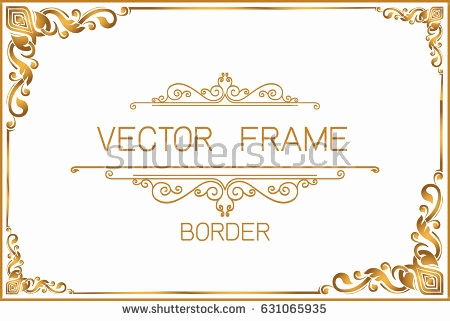450x321 Gold Corner Decoration Clipart Elegant Elegant Gold Vector Frames