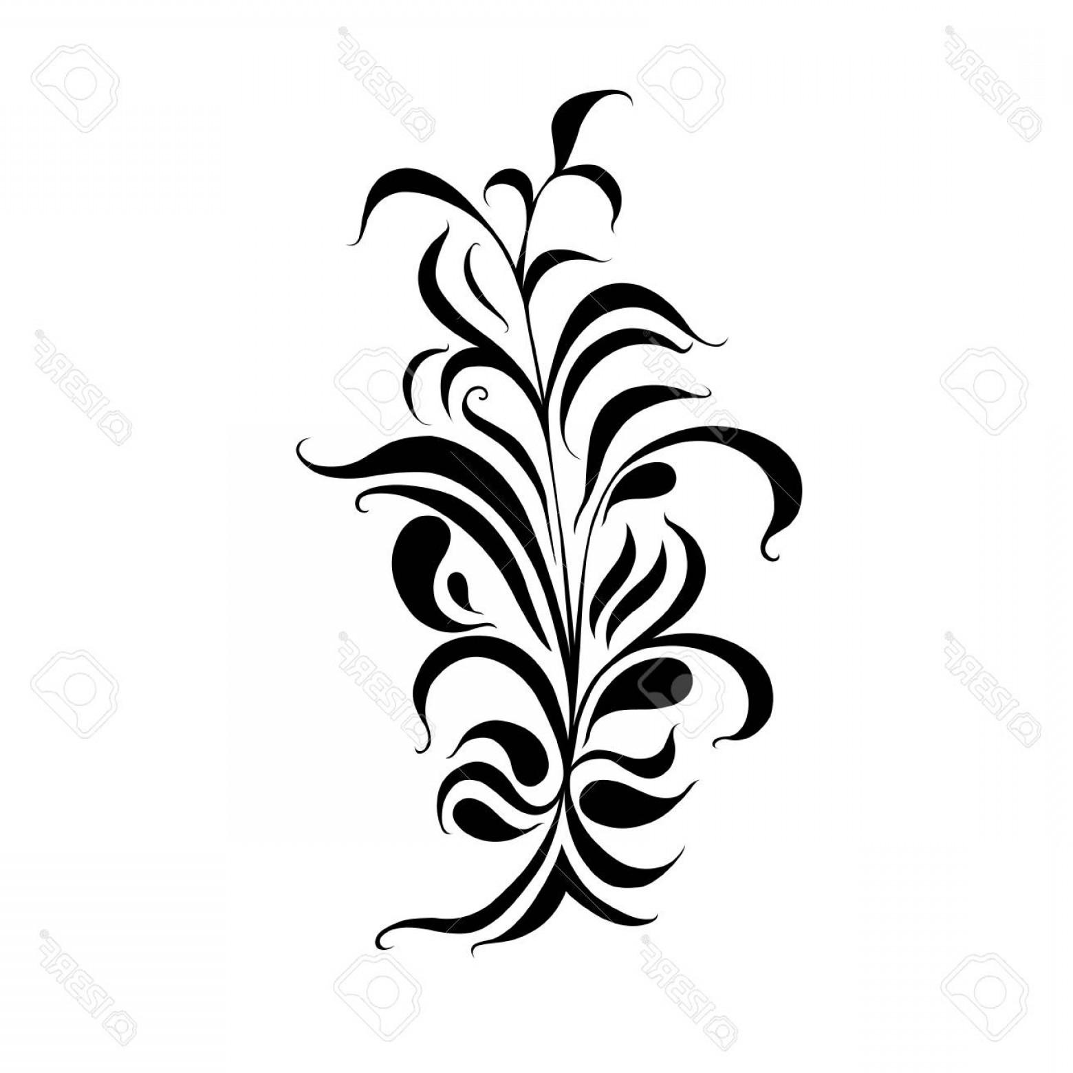 1560x1560 Photostock Vector Floral Corner Border Decorative Design Element