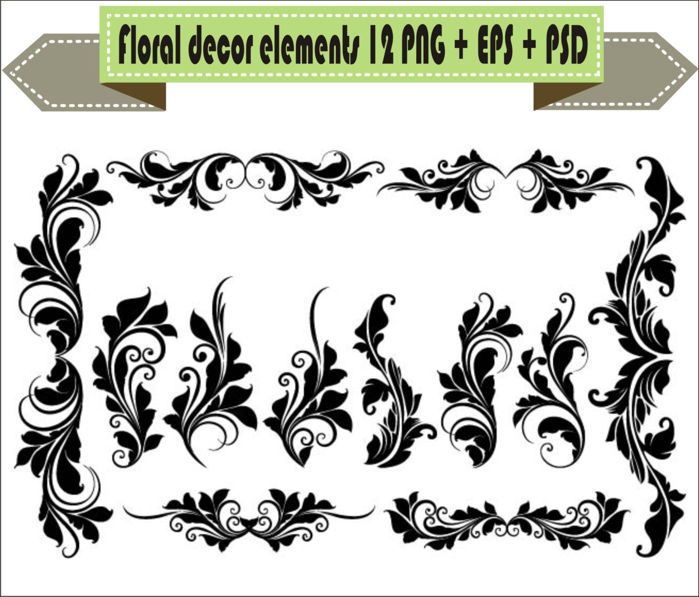 1500x1279 Tribal Clipart Corner Decoration