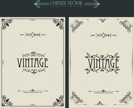 455x368 Corner Decoration Free Vector Download (23,928 Free Vector) For