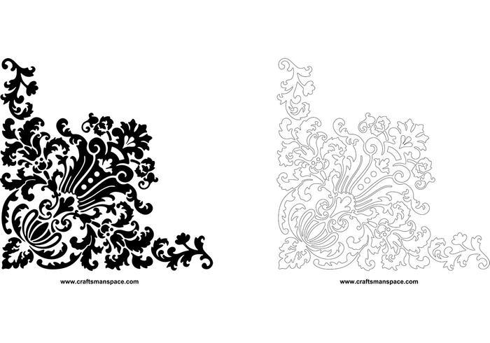 700x490 Corner Design Ornament