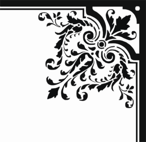 Corner Floral Vector At Getdrawings Com Free For Personal Use