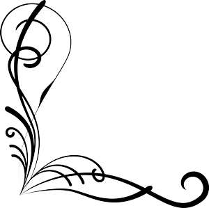 300x299 Collection Of Free Vector Flourish Corner. Download On Ubisafe