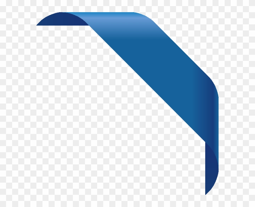 840x680 Corner Ribbon01 Blue