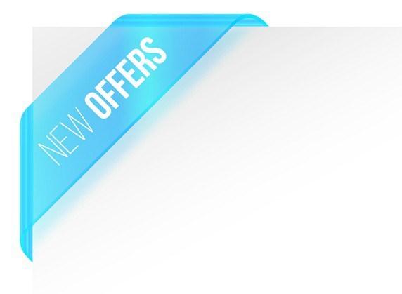 572x419 Free New Offers Corner Ribbon Vector