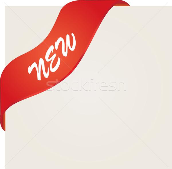 600x588 New Red Corner Ribbon Vector Illustration Maria Dragomer