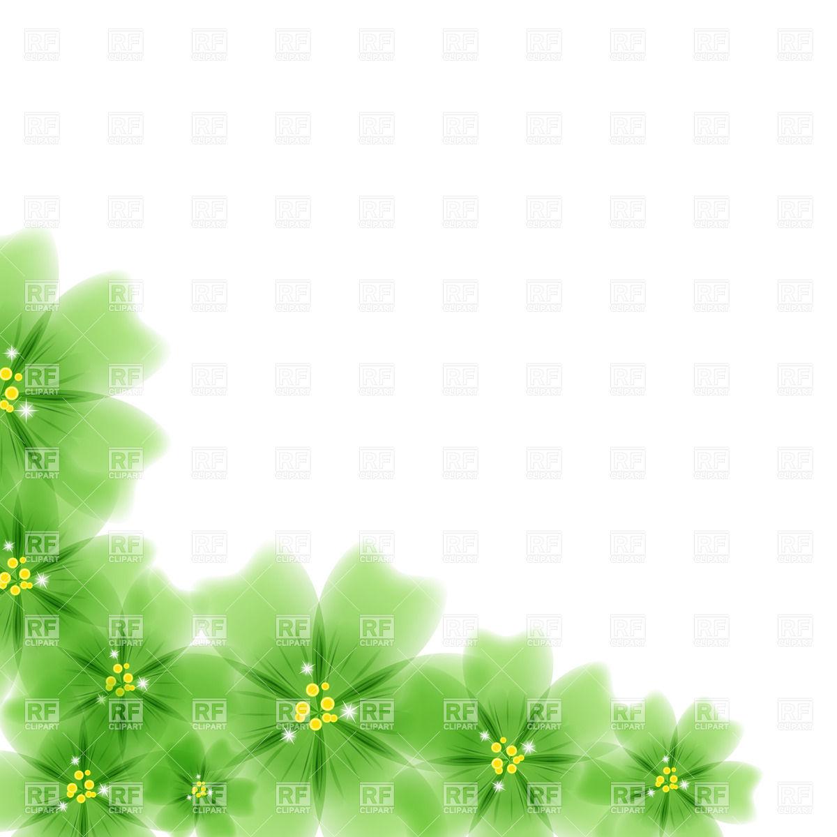 1200x1200 Green Flowers