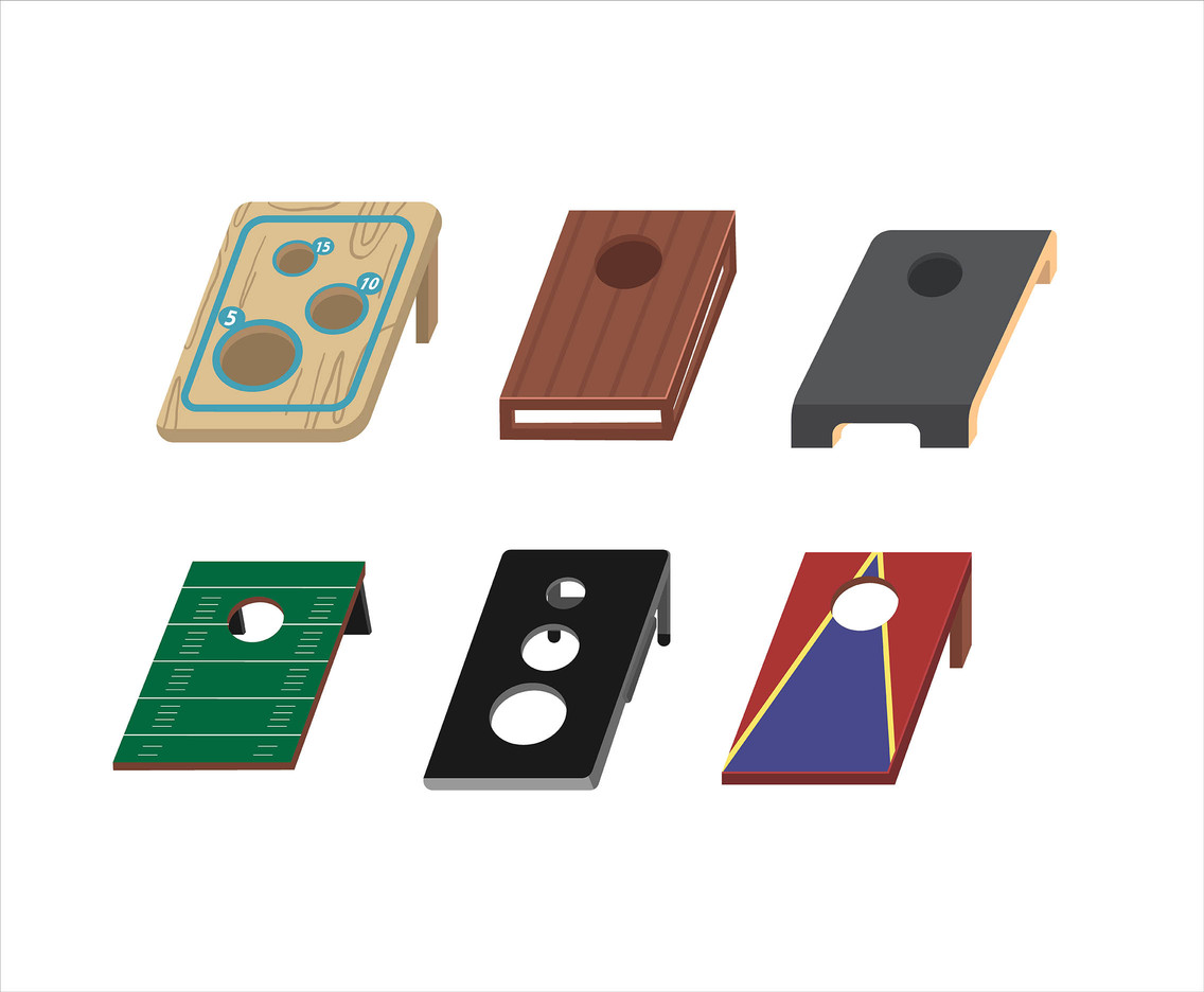 1136x936 Cornhole Boards Vector Vector Art Amp Graphics