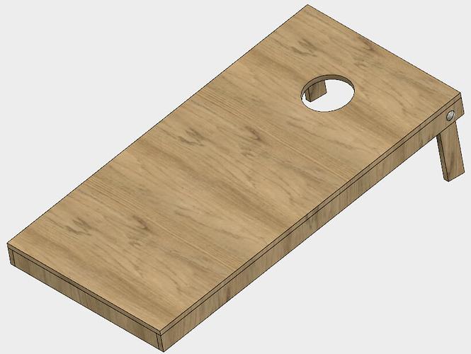 665x500 Cornhole Game Boards (Files Provided)