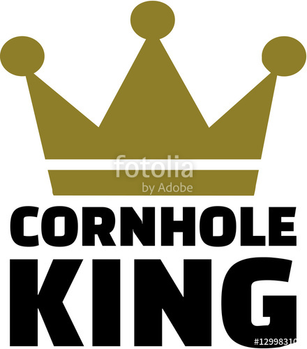 440x500 Cornhole King Stock Image And Royalty Free Vector Files On