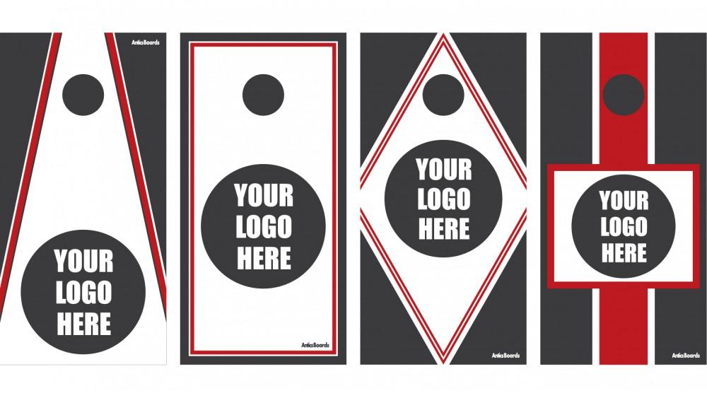 1000x563 Custom Original Design Cornhole Boards Wags