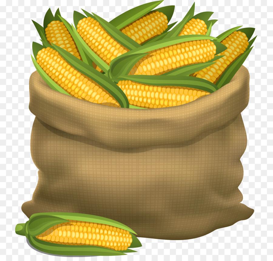 900x860 Maize Cornhole Gunny Sack Illustration