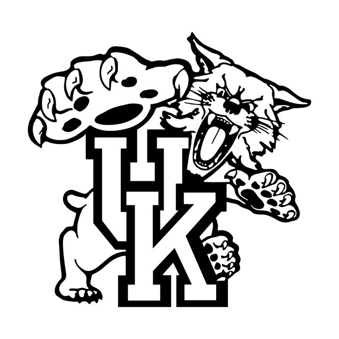 690x690 University Of Kentucky Cornhole Graphics By Vectordesign On Zibbet