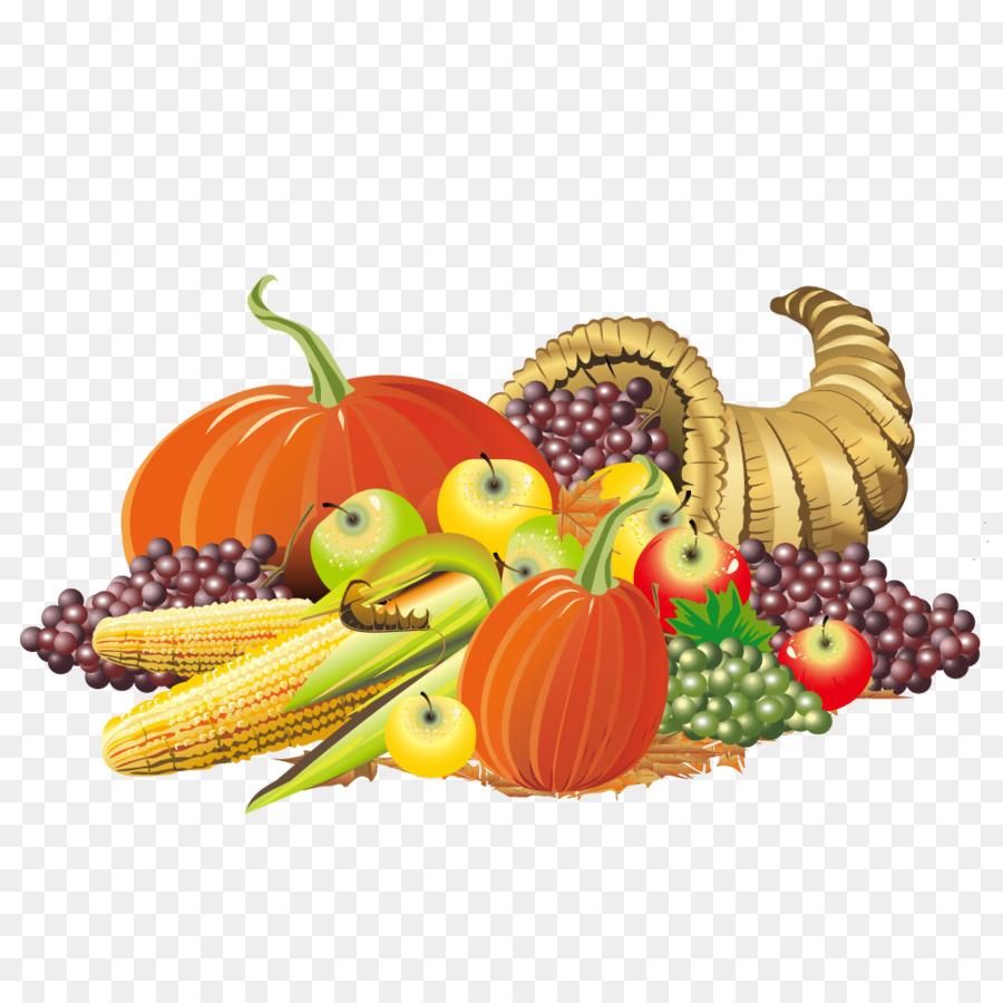 900x900 Thanksgiving Cornucopia Clip Art