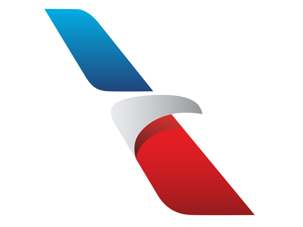 1024x768 New American Airlines Logo In Vector Format Trashedgraphics