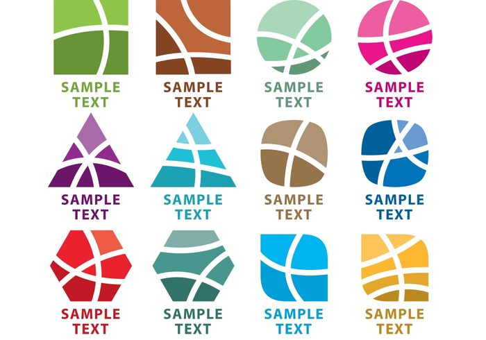 700x490 Abstract Logo Vector Elements 139172