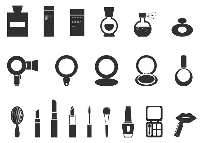 700x490 Makeup And Cosmetic Vector Pack