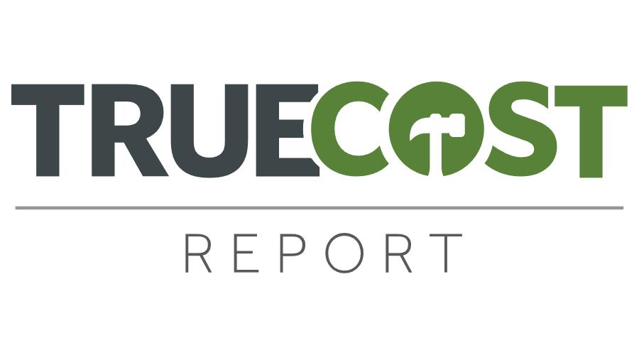900x500 True Cost Report Logo Vector