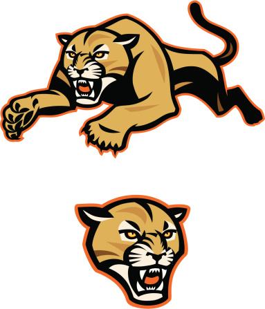 383x447 Cougar Clipart Cougar Mascot Cute Borders, Vectors, Animated