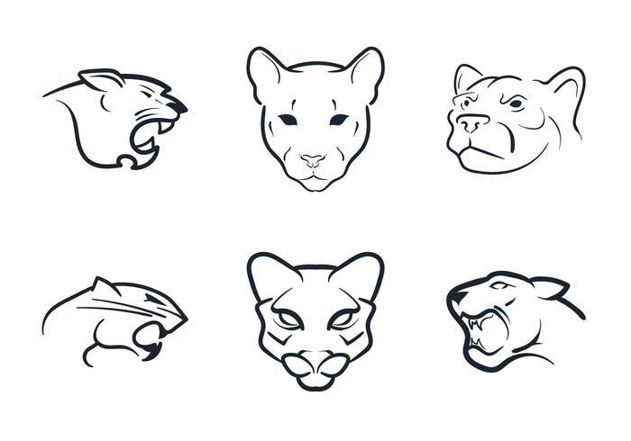 700x490 Free Cougar Mascot Vector Illustration