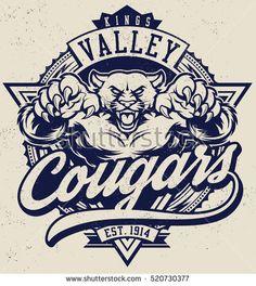 236x264 Spokane Cougars Convert Image Logo To Vector Center Street