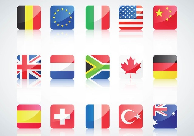 639x449 Country Flags Vector Free For Designs