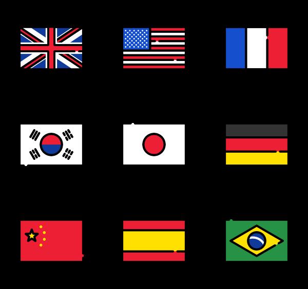 600x564 Flag Icons