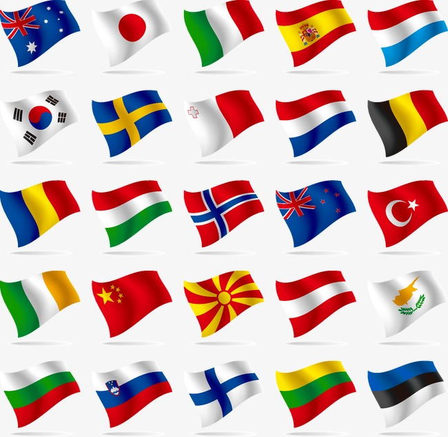 650x633 Countries Flags, Each Country, Flag, Banner Png And Vector For